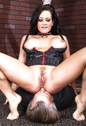 Big tit mistress and female sucks tranny 10